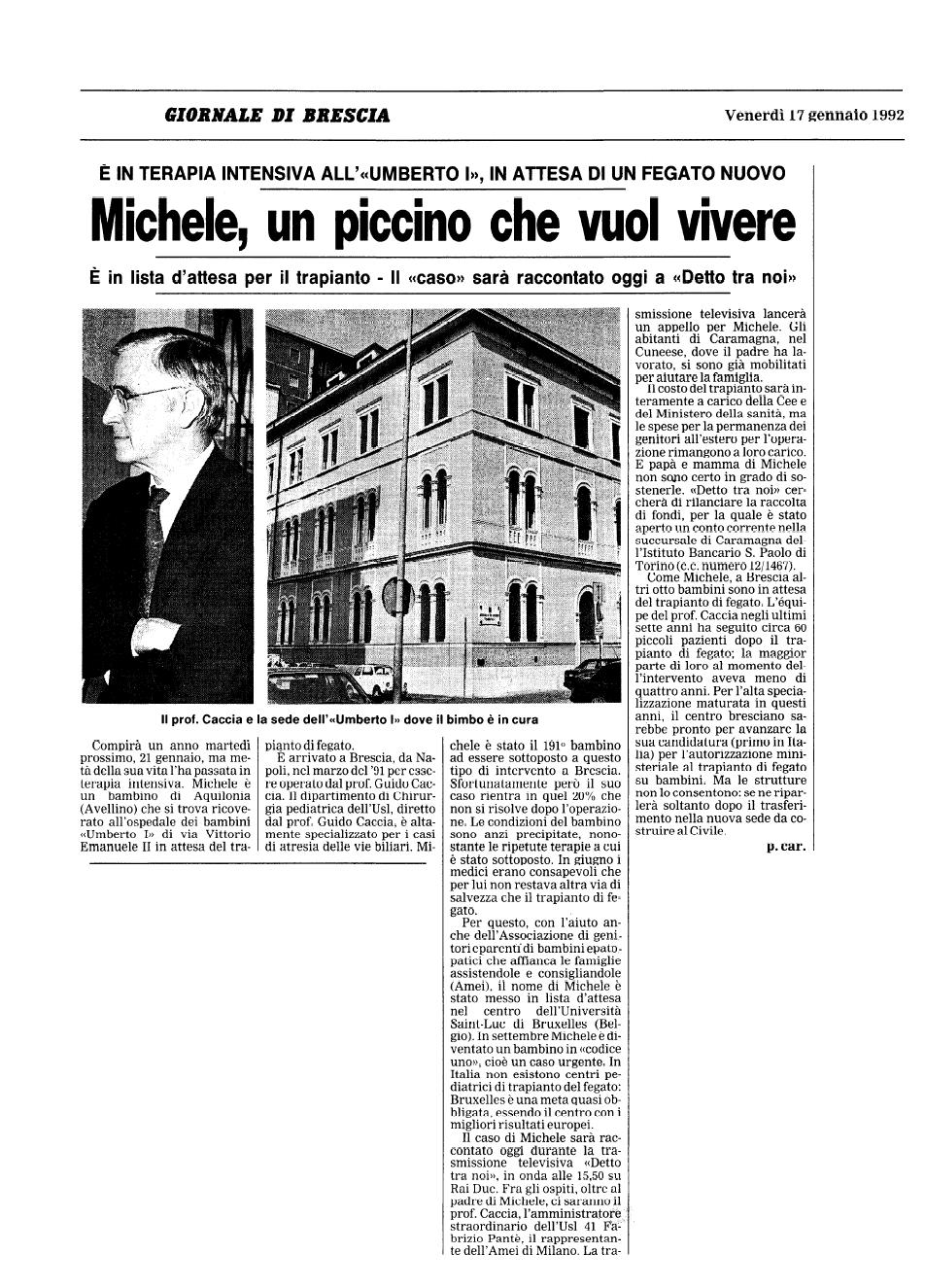 1992 01 17 Michele